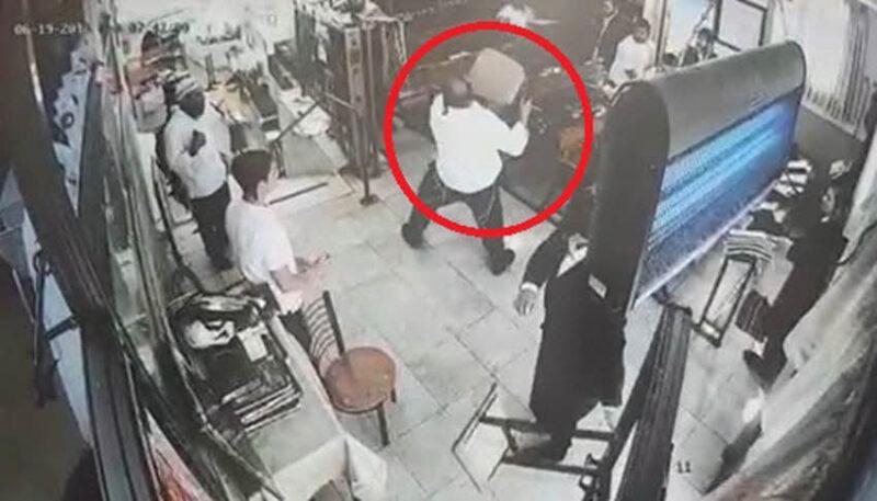 התקיפה - צילום: משטרת ישראל