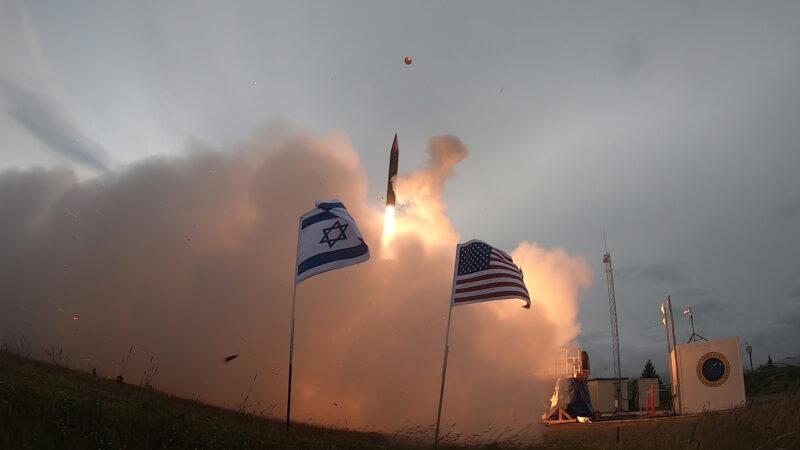 ניסוי טילים ישראלי אמריקני באלסקה