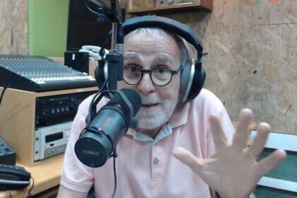 חיים הכט נגד רון קובי (צילום רדיו 'קול רגע')