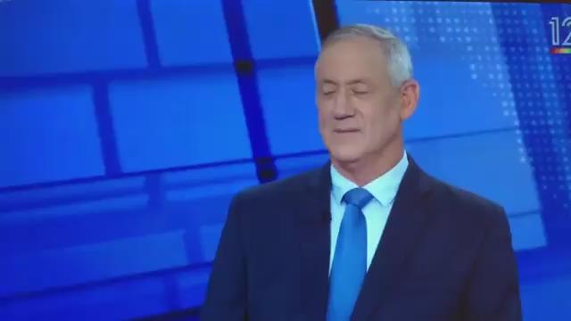 גנץ בראיון ליונית לוי