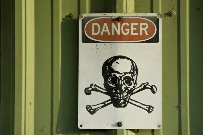 סכנה רעיל, אילוסטרציה: Matthew T Rader