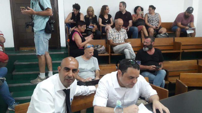 ברק כהן בבית המשפט