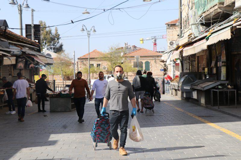 """קורונה טיים: """"שישי שוק"""" בירושלים המסוגרת"""