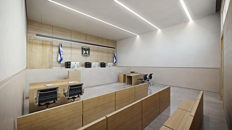 אולם בית משפט | צילום: משרד האוצר